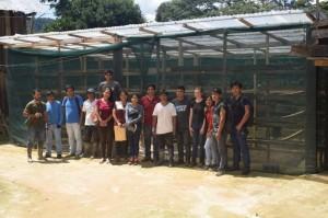 Implementación de secador solar con calamina transparente y malla raschel