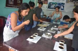 Taller de capacitación en catación de café